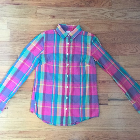 """J. Crew Tops - J. Crew """"The Perfect Shirt"""" button down"""